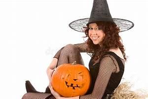 Halloween Kostüm Kürbis : jugendlich m dchen im halloween kost m mit k rbis stockbild bild von haar hintergrund 6307373 ~ Frokenaadalensverden.com Haus und Dekorationen