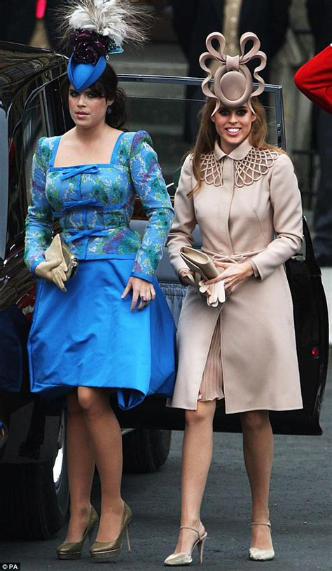 Princess Beatrice and Eugenie hats: Royals set to abide by Royal Wedding protocol | OK! Magazine