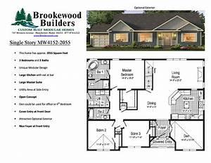 4 Bedroom 3 Bath Modular Home Floor Plans – Gurus Floor