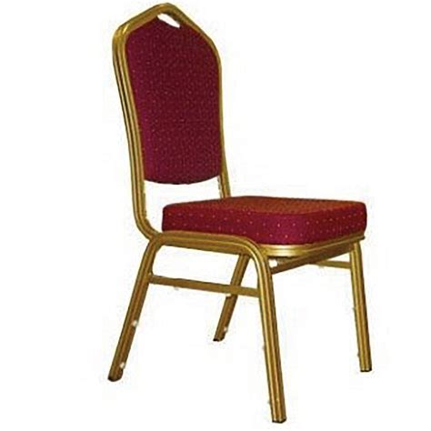 chair banquet burgundy velvet fabric and gold