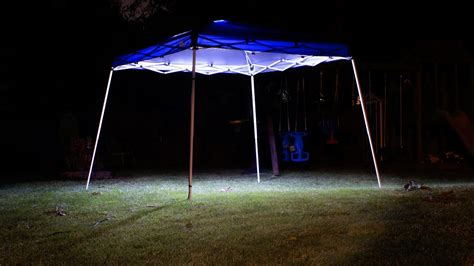 How To Install Lights On Canopy