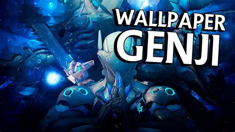 Genji Animated Wallpaper - wallpaper chrome genji overwatch
