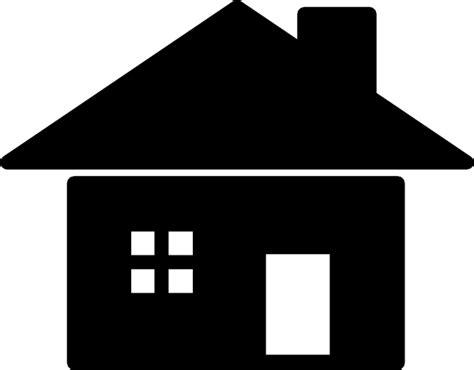 house silhouette icon clip art  clkercom vector clip