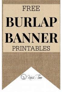 rustic burlap banner printables  horse buggy shaft