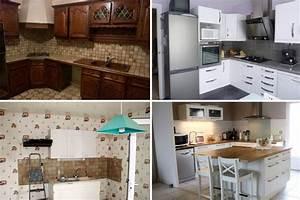 relooking integral de cuisines avant apres cuisine With relooking interieur avant apres