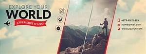 Travel Facebook Cover by doto   GraphicRiver