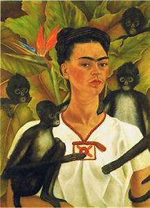 famous paintings - Frida kahlo