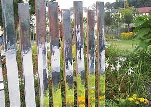 Sichtschutz Im Garten : spiegel im garten palisaden als transparenter ~ A.2002-acura-tl-radio.info Haus und Dekorationen