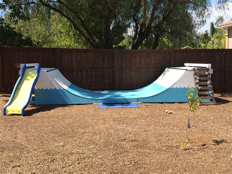 Backyard With Half Pipe The Perfect Gift For Children A