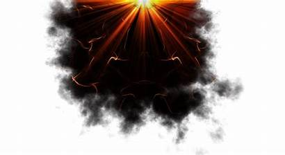 Burning Skies Smoke Smoky Circle 1980 1080