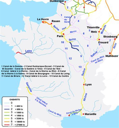 Carte Fluviale Haut De by Transport Fluvial En Wikip 233 Dia