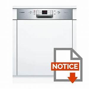 Lave Vaisselle Integrable Bosch : bosch smi63n15eu lave vaisselle int grable achat vente ~ Melissatoandfro.com Idées de Décoration