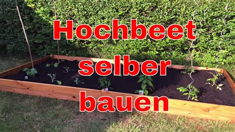 Mini ökosystem Selber Bauen by Hochbeet Selber Bauen