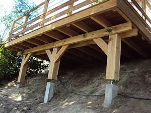 nivremcom plan gratuit terrasse bois pilotis diverses With terrasse bois sur pilotis