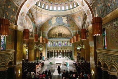 elaborate chicago catholic church wedding venue