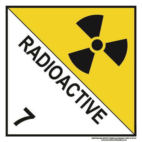Class 7  Radioactive  Discount Safety Signs Australia. Mind Blowing Murals. Tudor Banners. Iris Murals. Smm Banners. Classic Logo. Hemolytic Streptococcus Signs. Printer For Sticker Labels. Post It Stickers
