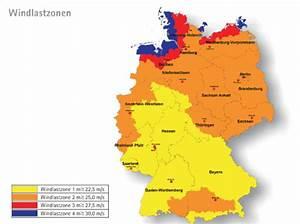 Windlastzone Nach Postleitzahl : windst rke und belastung sonnenschutz grundlagen baunetz wissen ~ Whattoseeinmadrid.com Haus und Dekorationen