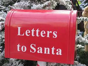 santa39s post box well now we know where the letters go With letters to santa post box