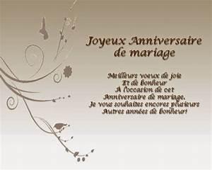 Cadeau 50 Ans De Mariage Parents : carte d 39 anniversaire de mariage a imprimer gratuite invitation mariage carte mariage texte ~ Melissatoandfro.com Idées de Décoration