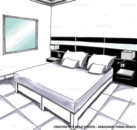 enigme chambre hotel pinna ard3sign chambre d 39 hôtel noir et blanc