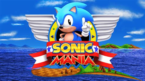 Sonic Title Screen Mania