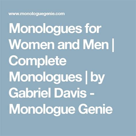 funny female monologues
