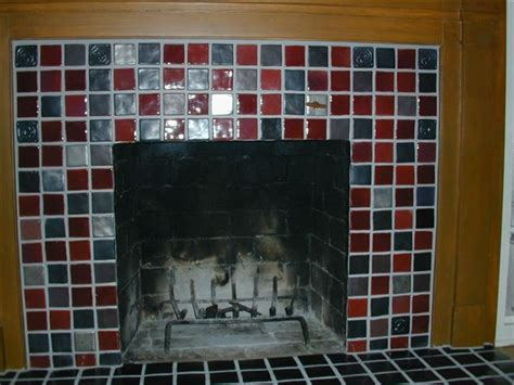 pewabic tile fireplace detroit by steward creations inc
