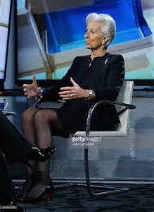 IMF Chief Christine Lagarde Legs