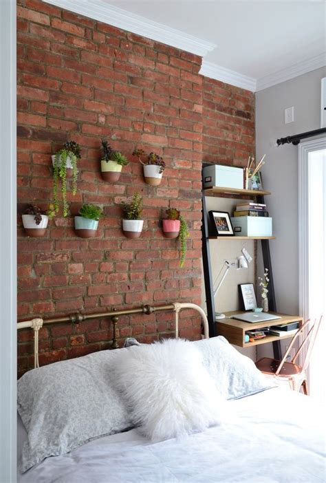 architectural detail design bold exposed brick wall decor