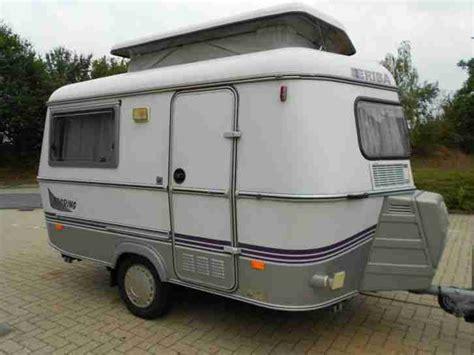 kleine wohnmobile gebraucht wohnwagen hymer eriba touring pan nur 750 kg wohnwagen wohnmobile