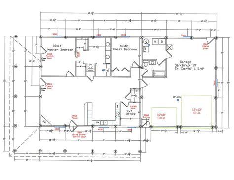 19 Stunning Metal Building Floor Plans For Homes