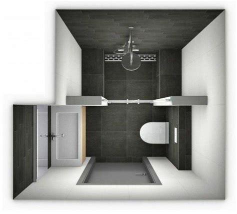 id 233 e d 233 coration salle de bain plan salle de bain 3m2 surface salle de bain en blanc et