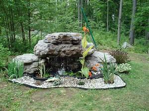 Fontaine Cascade Bassin : fontaine d 39 eau copal pour piscines et cascade de bassin de ~ Premium-room.com Idées de Décoration