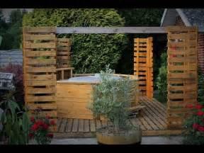Terrasse Avec Palette De Bois by Mes Constructions En Palette De Bois Youtube