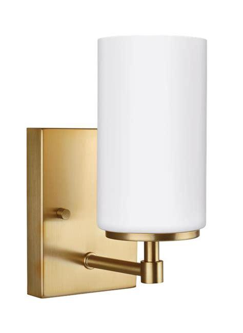 4124601 848 one light wall bath sconce satin bronze