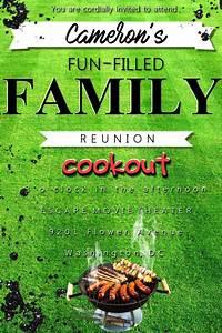 Cookout Invitaton Template