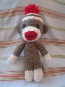 Sock Monkey Crochet Pattern