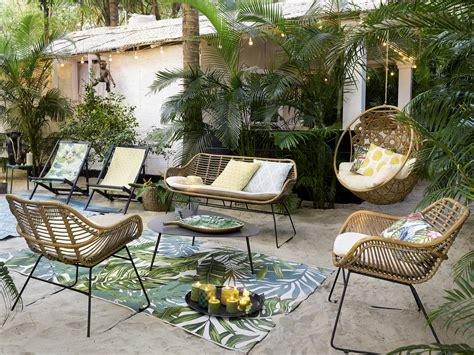 salon de jardin rotin du mobilier de jardin en rotin ou presque joli place
