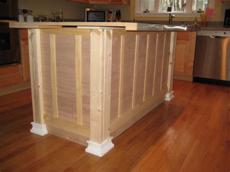 diy kitchen island from stock cabinets down to earth style kitchen islands