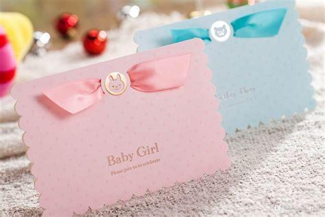 baby shower invitation boys girls birthday greeting card