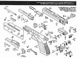 Exploded Diagram Ksc Glock 18c  U2013 Ksc Part  U2013 Original