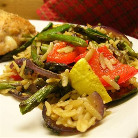 Roasted Summer Vegetable Orzo Recipe  All Recipes Uk
