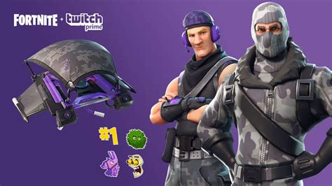 claim   fortnite twitch amazon prime skin