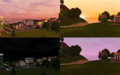 Sims 3 Lighting Mod by Mod The Sims Environment Lighting Tweaks V4 0 V5 6 55 Gold