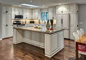 White kitchen craftsman kitchen minneapolis by for Kitchen colors with white cabinets with clip on candle holders