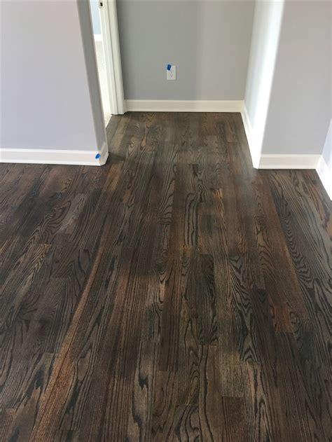 Bona Floor Finish Colors by 25 Best Ideas About Oak Stain On Oak Floor