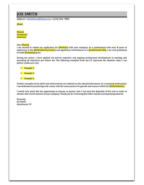 fish and cover letter 3 cover letter sles to help you stand out career