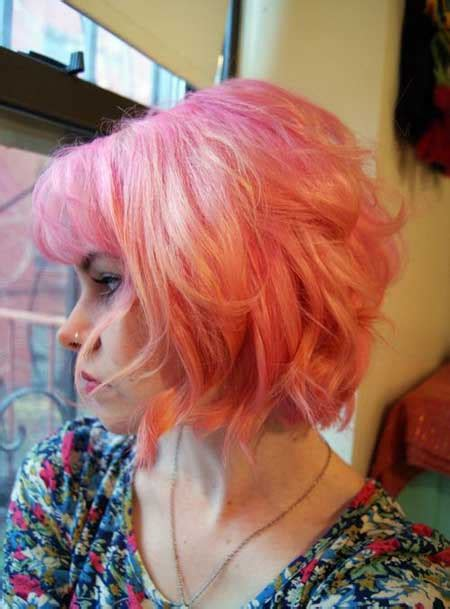 short multi colored hair short hairstyles