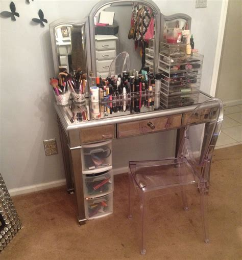 accessories contemporary makeup dressing bedroom