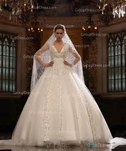 v neck wedding dresses sparkly ivory v neck organza gown fall